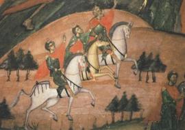 De heilige drie koningen, Byzantijns