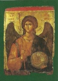 Aartsengel Michael, Byzantijnse ikoon