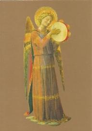 Musicerende engel tamboerijn, Fra Angelico