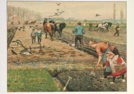 Lente op de akker, Cornelis Jetses