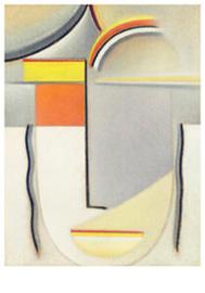 Abstract hoofd: Winterklanken, Alexej von Jawlensky