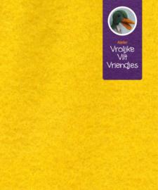 Wolvilt geel 16