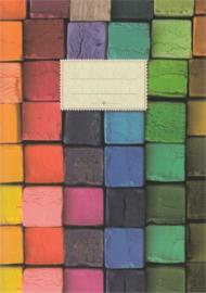 Schriftje Bont is mijn lievelingskleur, Taurus journal