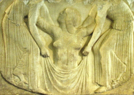 Geboorte van Afrodite, Grieks