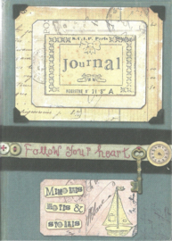 Journal for memories, notes and stories, Follow your heart