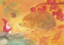 Dwerg en egel, Dorothea Schmidt