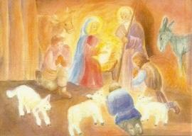 Aanbidding van de herders, Dorothea Schmidt