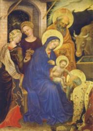 Aanbidding van de Koningen (detail), Gentile da Fabriano