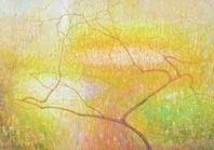 Hazelaar in oranjegeel, Jos van Wunnik
