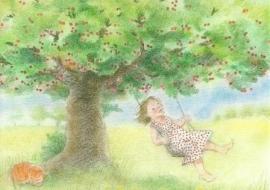 Schommel in de kersenboom, Sanne Dufft