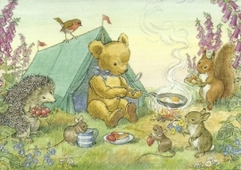 Teddy's tent, Molly Brett