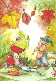 Dwerg in de herfst, Franziska Ludwig