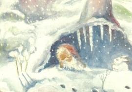 Hutzliputz in de winter, Dorothea Schmidt