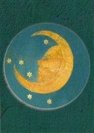 Rozenkrans medaillon 'Maan', V. Stoss