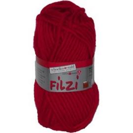 Filzi 100% viltwol 50 gram / bol kleur 003 rood