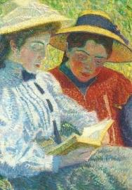 Lezende vrouwen, Leo Gestel