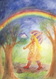 April-regenboog, Ilona Bock
