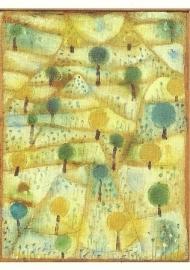 Klein ritmisch landschap, Paul Klee