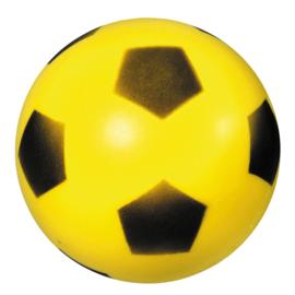 Zachte foambal met voetbalprint