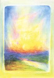 Zonsopgang, juli, David Newbatt
