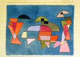 Zeilschepen, Paul Klee
