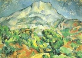 Mont Saint-Victoire, Paul Cézanne