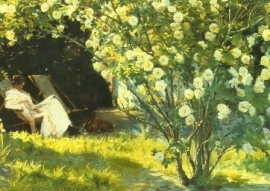 Rose garden, P.S. Kroyer