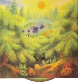 Draaiplaat in het bos, Gabriela de Carvalho