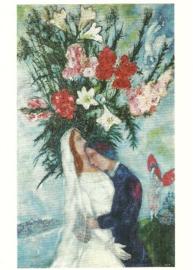 Het bruidspaar, Marc Chagall