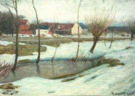 Winter, Leopold von Kalckreuth