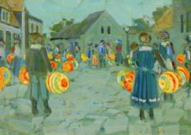 Lampionnen optocht, Rudolf Bartels