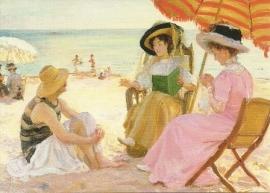 Het strand, Alfred Victor Fournier