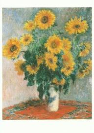 Boeket zonnebloemen, Claude Monet