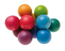 Gekleurde bollen tastvorm