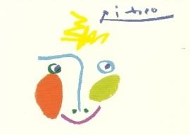 De glimlach, Pablo Picasso