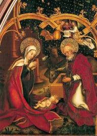 Geboorte van Christus, Hans Holbein de Oude