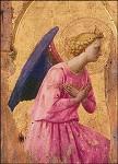 Aanbiddende engel (detail), Fra Angelico