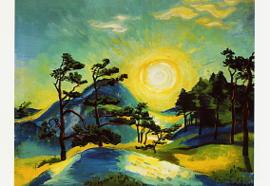 Opgaande zon, Max Pechstein