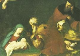 Aanbidding van de herders, Jusepe de Ribera