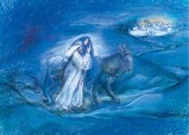 Jozef en Maria naar Bethlehem, Marjan van Zeyl