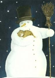 Sneeuwpop met poes, Catarina Kruusval
