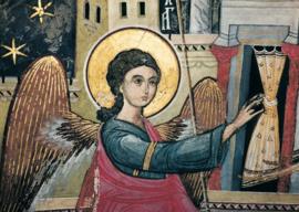 Verkondigingsengel, Byzantijns Roemenië