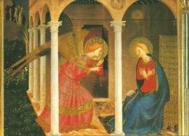 Verkondiging Maria, Fra Angelico