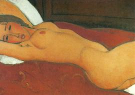 Liggend Naakt, Amadeo Modigliani