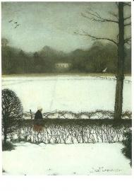 Uitzicht atelier te Eerbeek, Jan Mankes