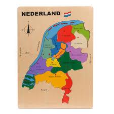 Houten puzzel Nederland ( Provincies)