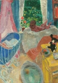 De kinderkamer (detail), Jan Sluijters