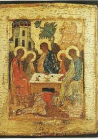 Heilige drievuldigheids ikoon, A. Rubljew