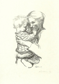 Moeder met kind op de arm, Käthe Kollwitz