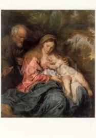 Rust op de vlucht naar Egypte, Anthonis van Dyck